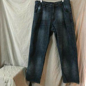 Vintage Jordan Mens Black Jeans Size 38 W 34 L